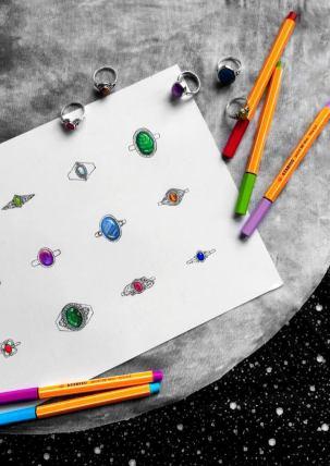 rings-drawing